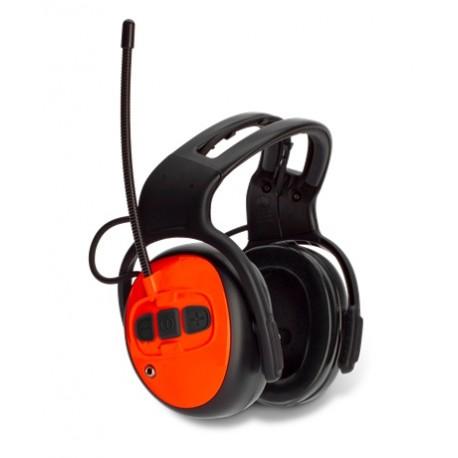 Ochronnik słuchu z radiem FM- dołłączenie do kasku